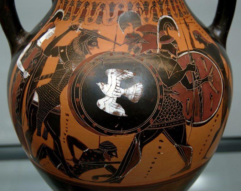 Black Figure Pottery