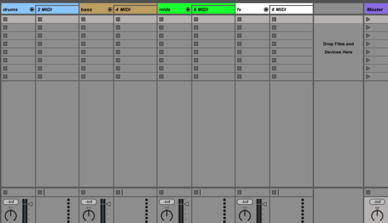 Ableton Template