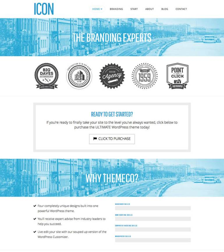 X Theme Multipurpose Simple WordPress Theme