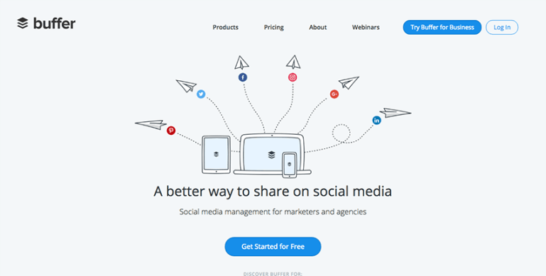 Buffer - Social media tool for scheduling tweets and shares