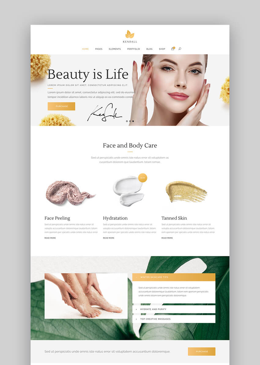 20 Best Spa Amp Beauty Salon WordPress Themes For 2018 Websites