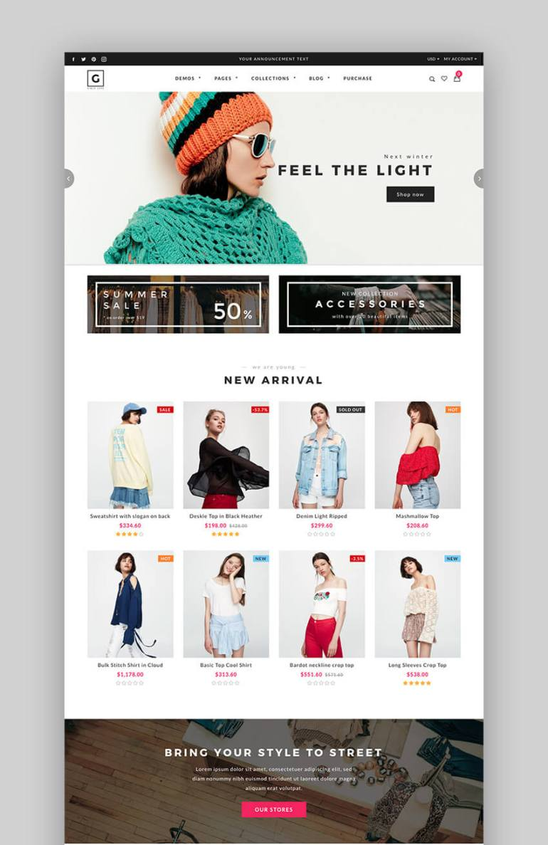 c5a1bc5f9d7fc 18+ Best Shopify Themes With Responsive Designs for 2018 – www 101