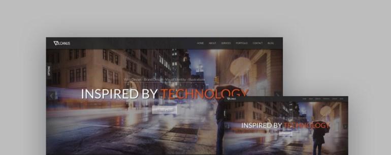 Vulcanus responsive HTML5 template