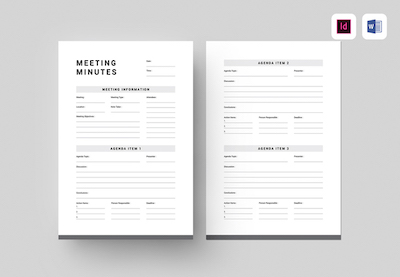 It helps you stay on track and accomplish important goals. 20 Best Free Microsoft Word Meeting Agenda Templates 2021