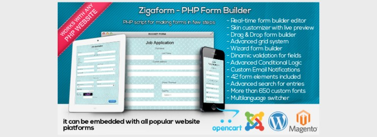 Zigaform - PHP Form Builder - Contact  Survey