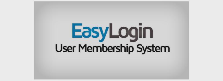 EasyLogin - User Membership System