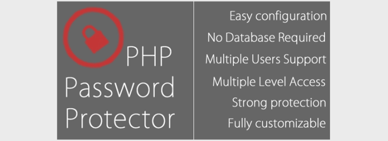 php Password Protector - PHP Login System