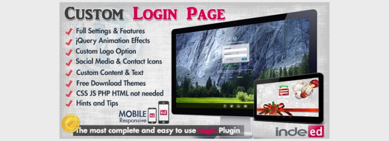 WordPress Custom Login Theme Page