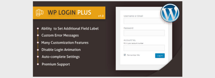 WP Login Plus