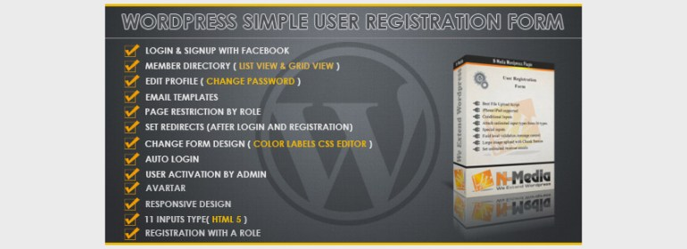 WordPress Registration Form