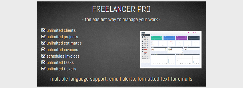FREELANCER PRO- Manage Your Work Manage Your Life