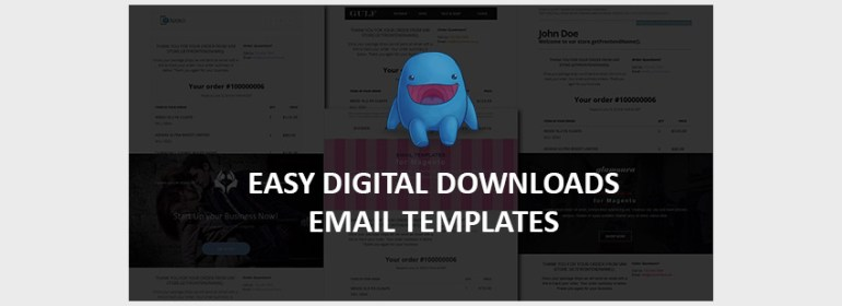 Easy Digital Downloads Email Templates