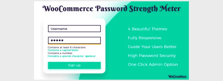 WooCommerce Password Strength Meter
