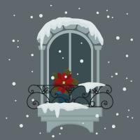 How to Create a Snowy Window Scene in Adobe Illustrator