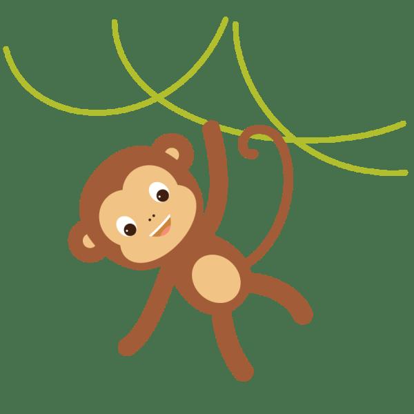 Create Hanging Monkey Illustration In Adobe