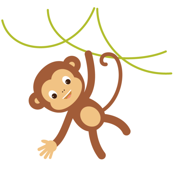 create hanging monkey