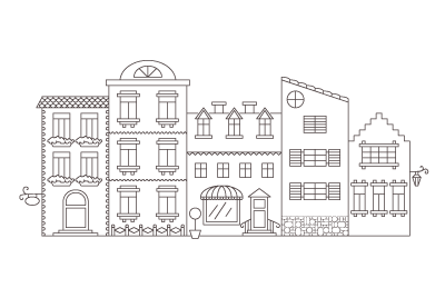 How to Create a Coloring Book Style Illustration in Adobe