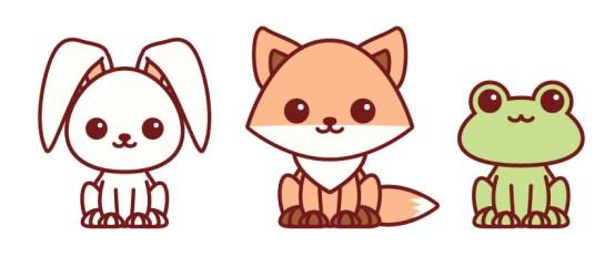 Easy Kawaii Cute Wolf Drawings