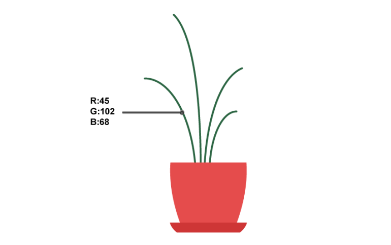how to create the stalks