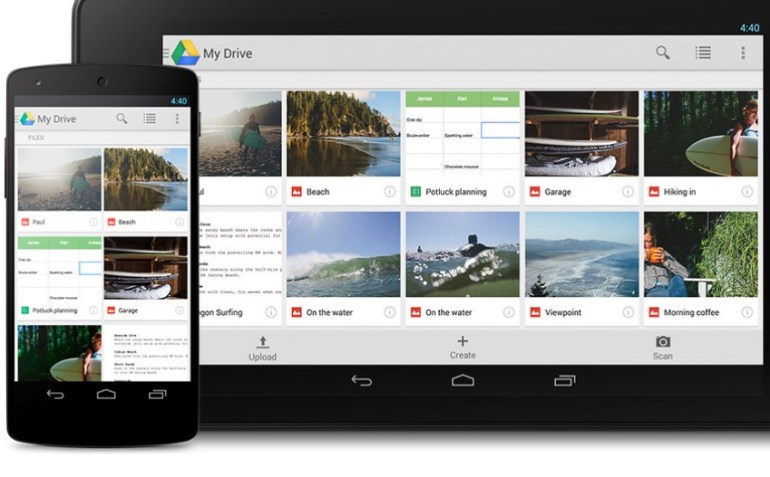 Google drive online small business file storage