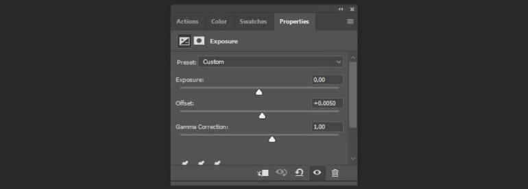 Creating the adjustment layer