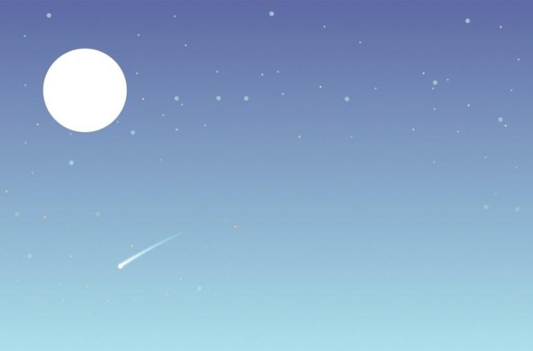 Basic moon shape