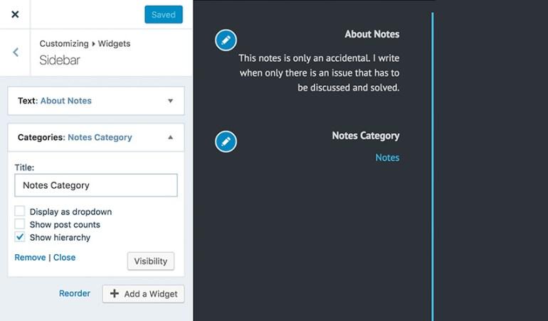 Two Edit buttons in WordPresscom Customizer