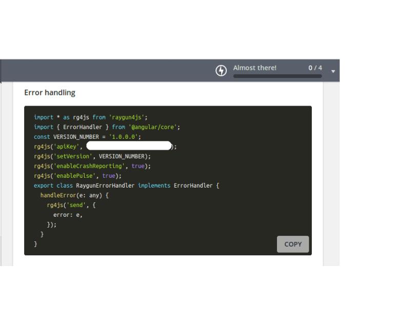 Raygun Error Handling Code