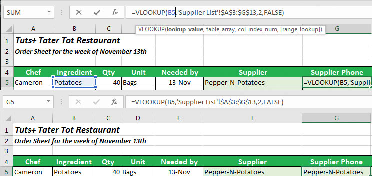 Copying and pasting formula in Excel Lookup Moved