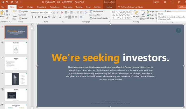 PowerPoint Presentation BLUF Example
