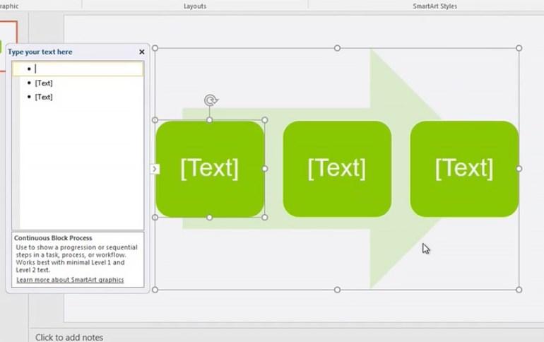 PowerPoint SmartArt Example image
