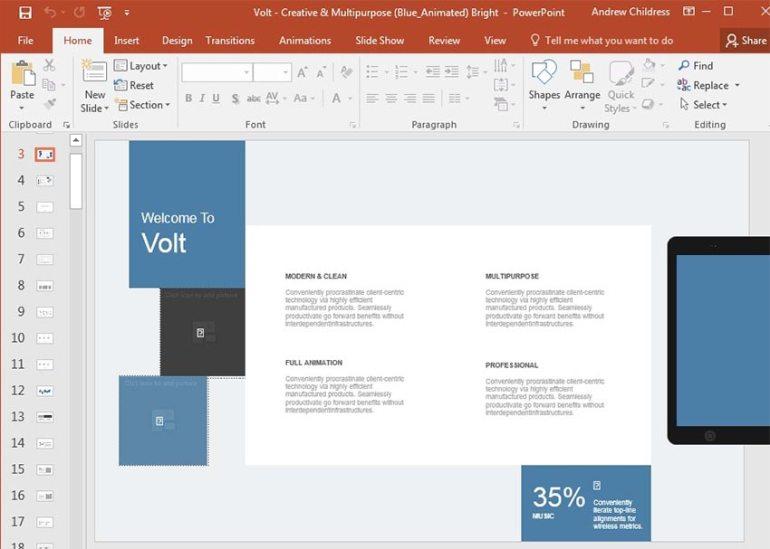 Volt Elements Example
