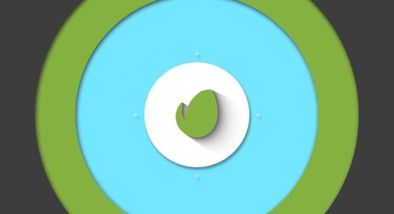 Flat logo opener