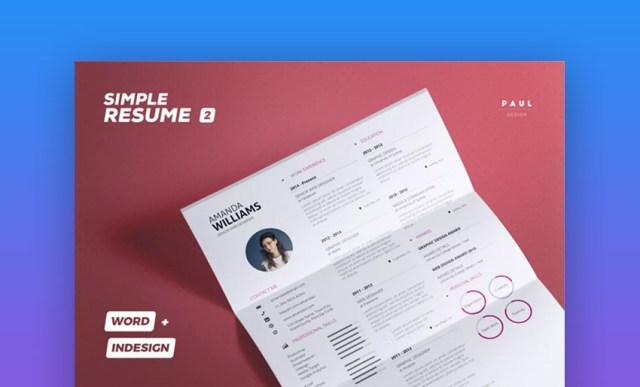 Semplice volume ResumeCv 2