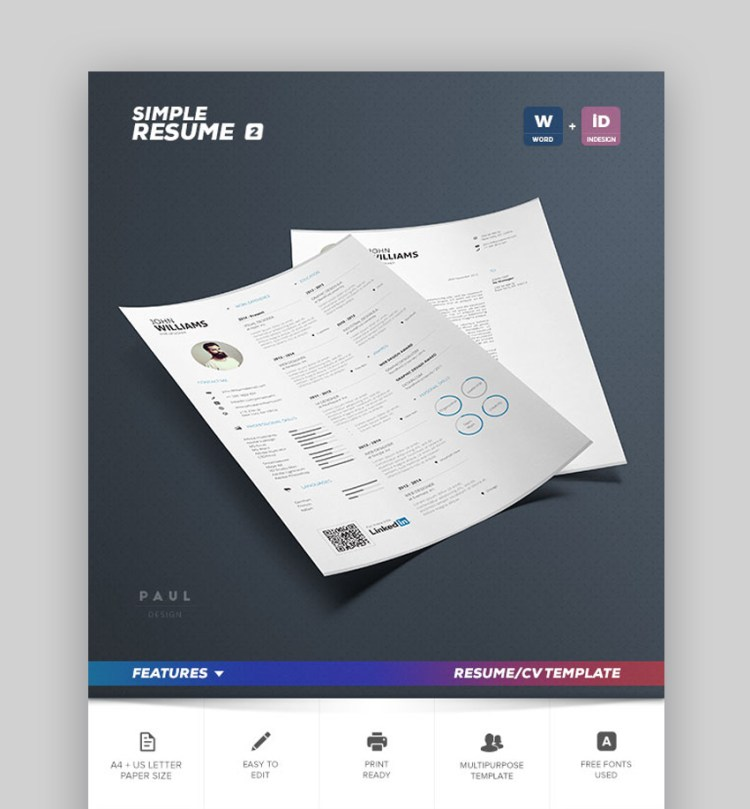 Simple Resume Vol 2