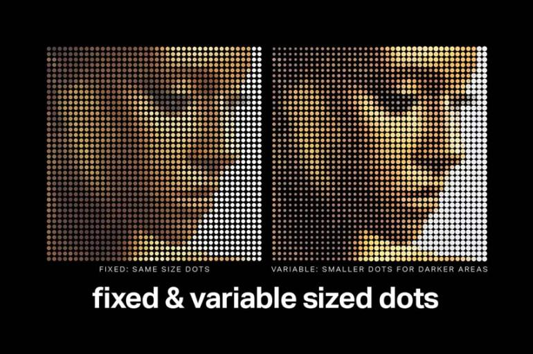 10 Best Print-Inspired Halftone Effects (Color and Black-and-White
