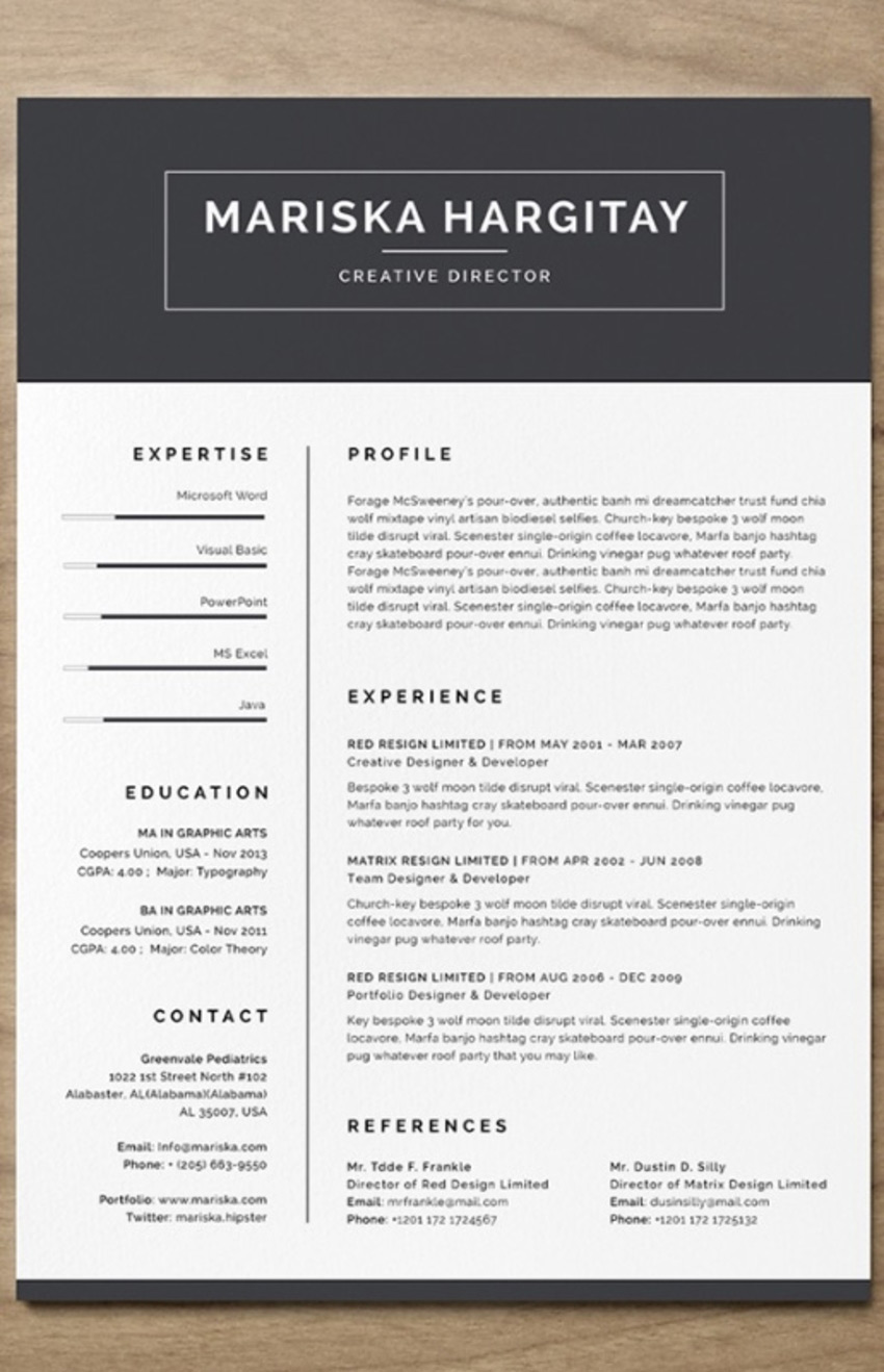 Free Resume Download Template 35 Best Indesign Resume Templates Free Pro Downloads