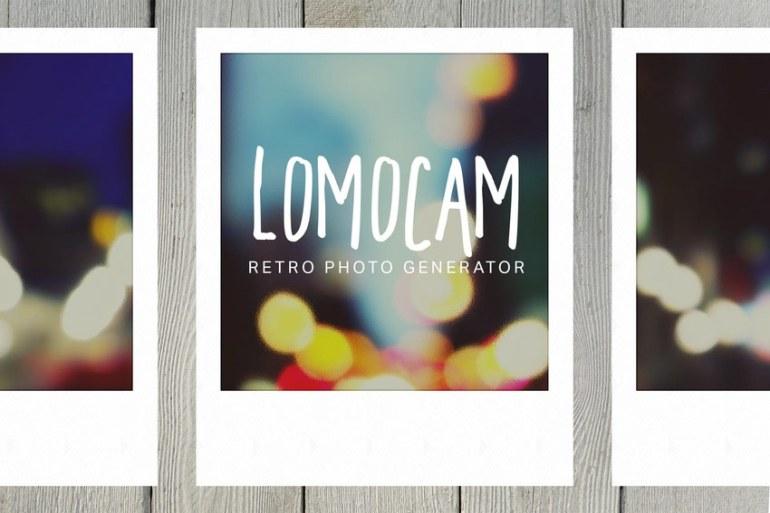 Lomocam Retro Photo Generator