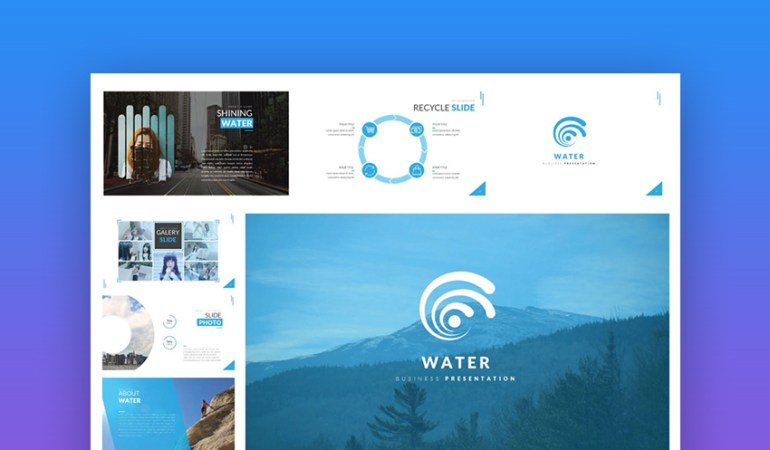 Water Business Template