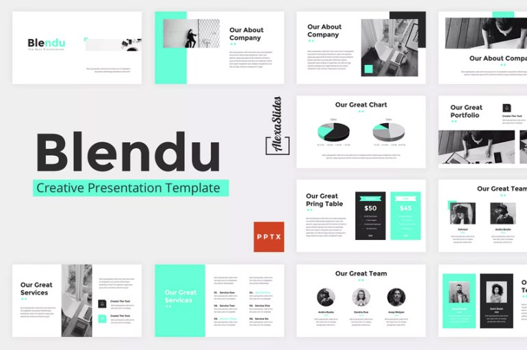 Blendu Presentation Template