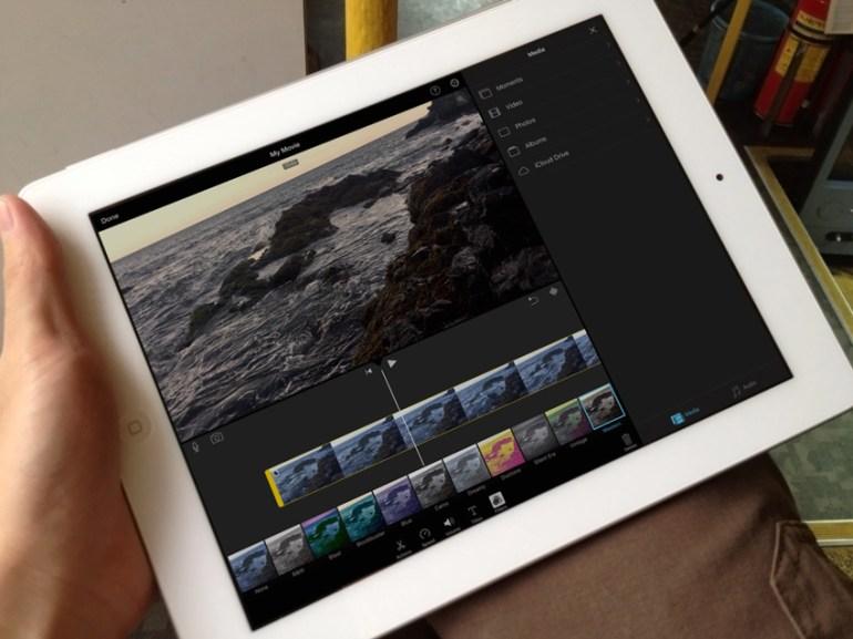 iMovie on iPad