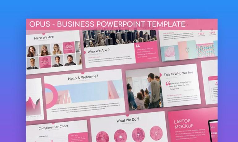 Opus Business PowerPoint Template