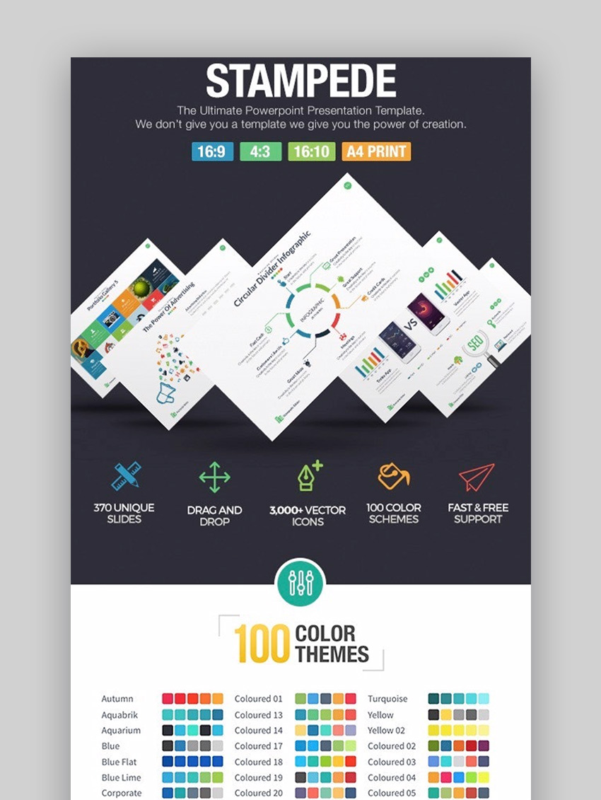 Free Template Ppt Keren : template, keren, Awesome, PowerPoint, Templates, (With, Presentation, Designs, 2020)