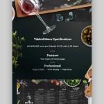 20 Cool Restaurant Food Menu Templates Best Modern Designs For 2021