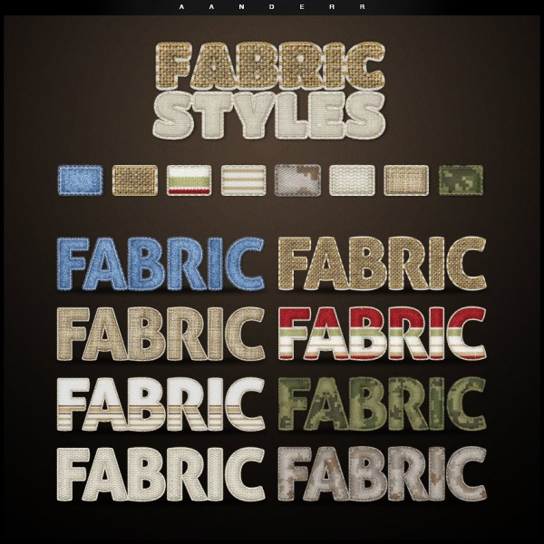 Create Camo Fabric Text Effect In Adobe