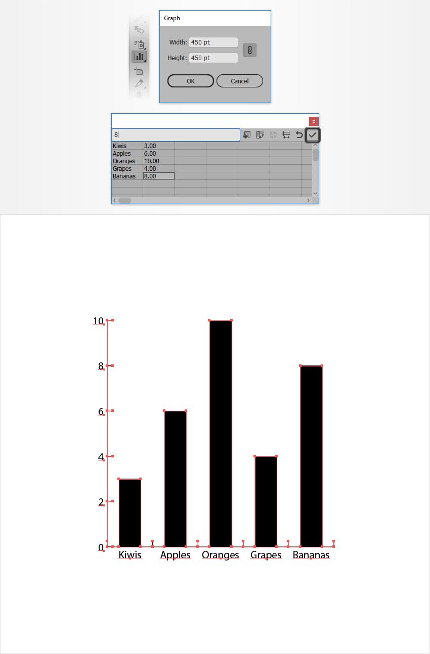 column graph tool