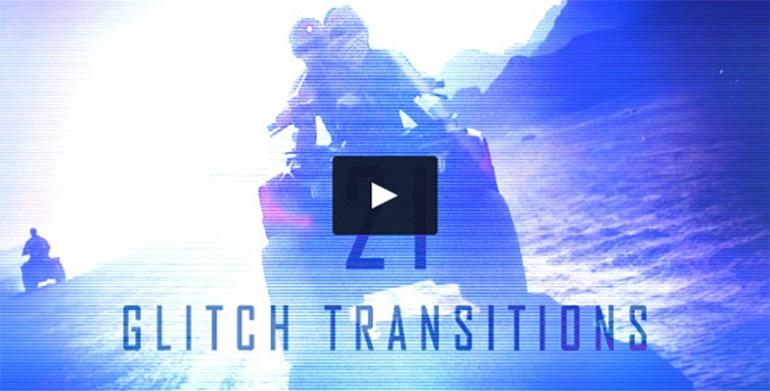 Glitch Transitions