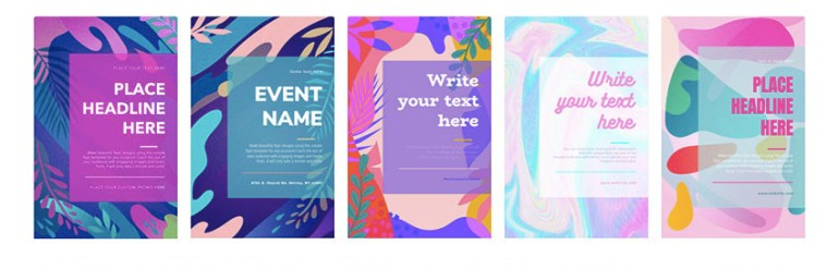Flyer Template Options