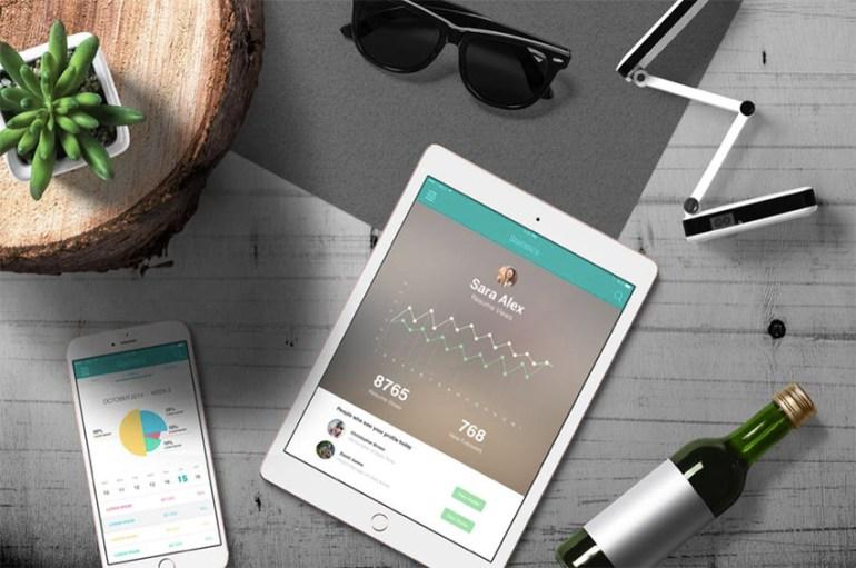 iPad Screen Mockup v2