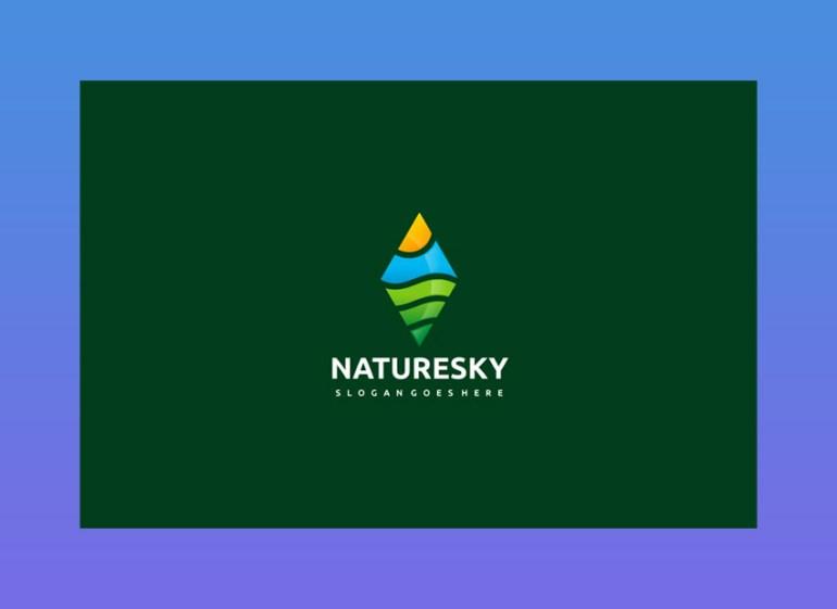 Nature Sky Logo